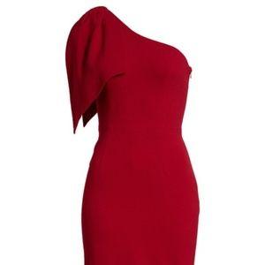Dress the Population Tiffany One-Shoulder Midi